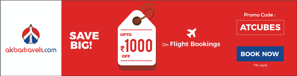 akbartravels save big upto 1000 off on flight booking