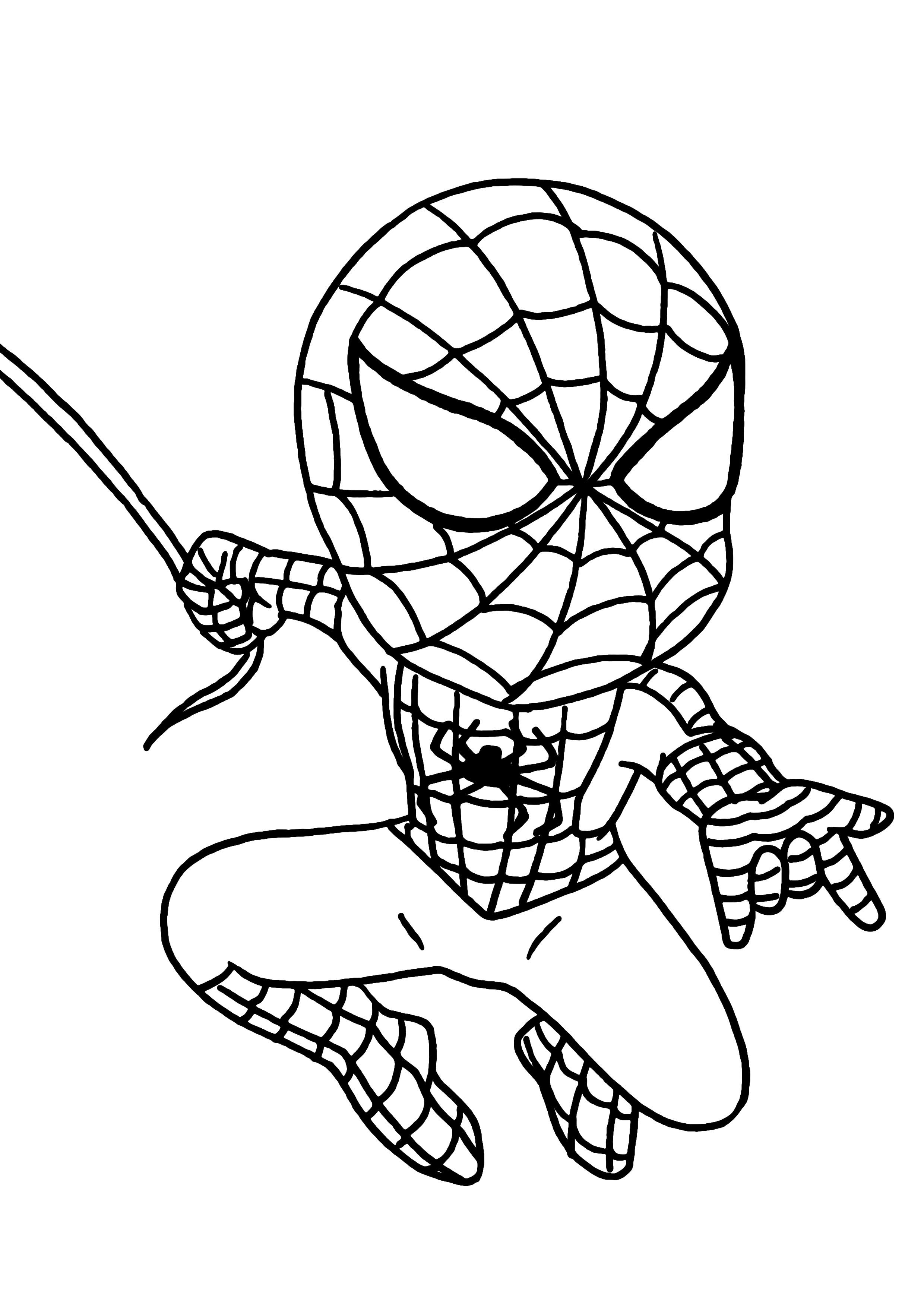 167 Dibujos De Spiderman Para Colorear Oh Kids Page 4