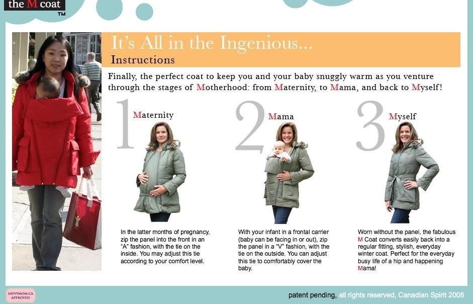 eccdcb6e331f Hobo Mama  Babywearing and maternity coat  the easy way