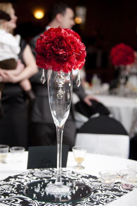Reception, Flowers & Decor, red, Centerpieces, Centerpiece