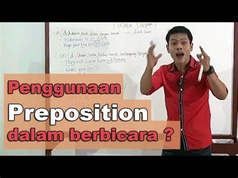 preposition kata depan youtube