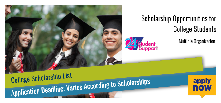 Scholarship Opportunities for College Students - 2017 2018 ...