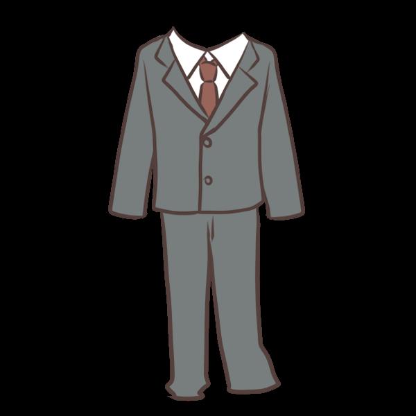 リクルートスーツ男のイラスト かわいいフリー素材が無料の