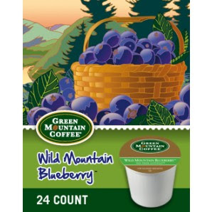 Green Mountain Blueberry Keurig Kcup coffee
