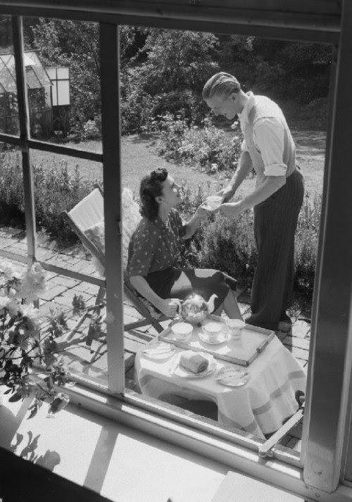 Tea in the Garden, 1951 (via National Media Museum)