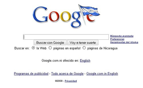google nicaragua