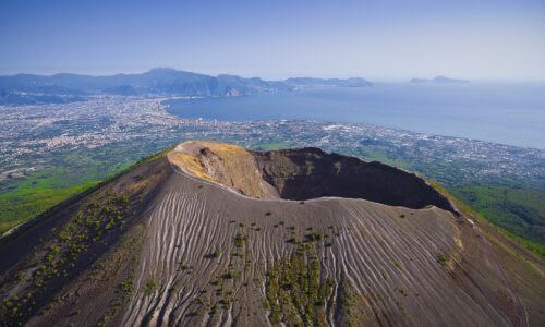 Vesuvius Overlooking Naples