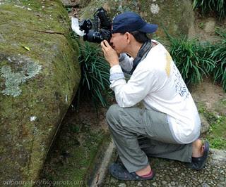 orionmystery aka kurt photographing a mock viper snake IMG-20120801-WA0002 copy