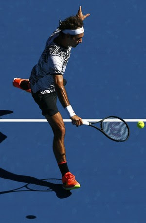 Roger Federer Aberto da Austrália 2017 (Foto: Reuters)