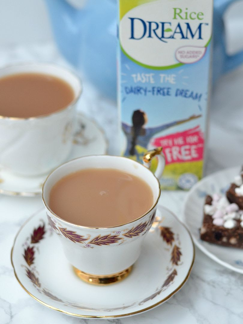 Rice Dream Dairy Free - Perfect cup of Tea
