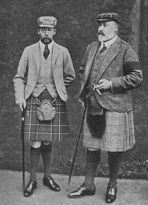 King Edward VII of the United Kingdom with Pri...