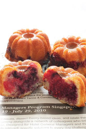 Raspberry Cupcake 5