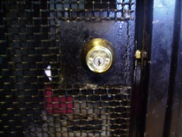 The lock in question, after a thorough cleaning