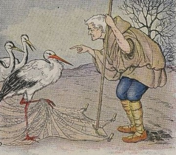 THE FARMER AND THE STORK