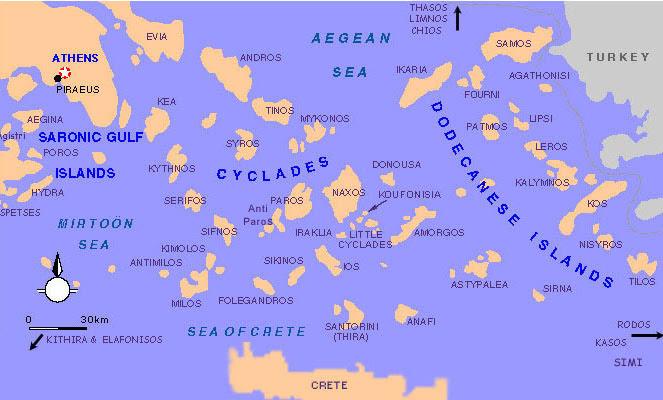 greek islands information