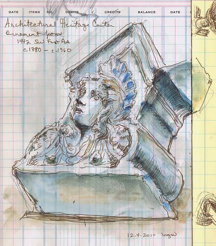Sketchcrawl - Architectural Heritage Center, Portland