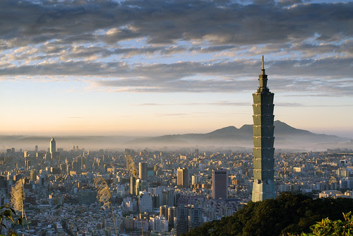 Image Taipei 101 © Daniel M. Shih for new item on the Taipei 101 in my new Blog¡¡¡