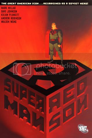 Superman: Red Son, cover by Dave Johnson