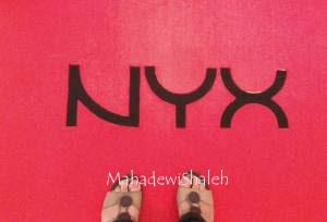 NYX red carpet and my Fat THUMBs hahaha
