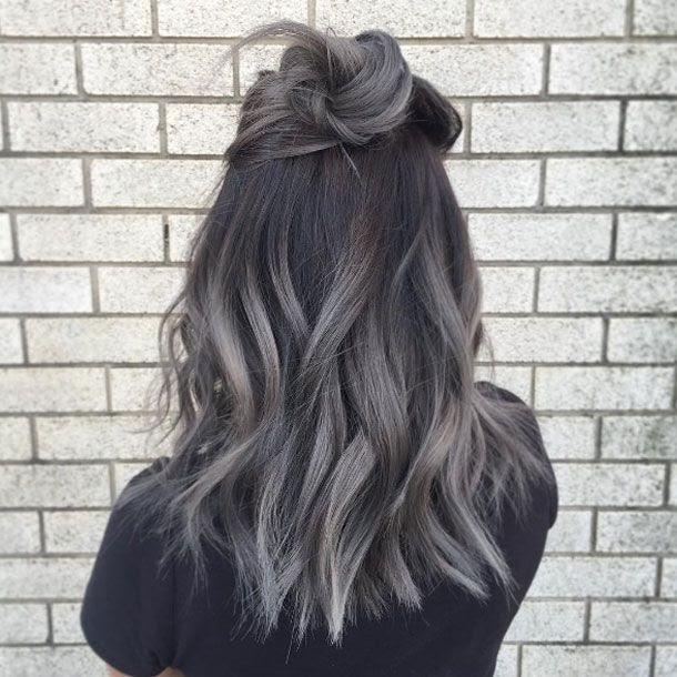 Grau Bild: Graue Haare Kommen Wieder Dunkel