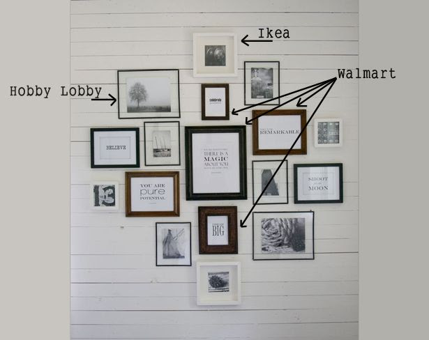 Wall Groupings The Lettered Cottage