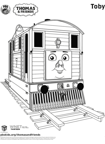 Thomas Coloring Book