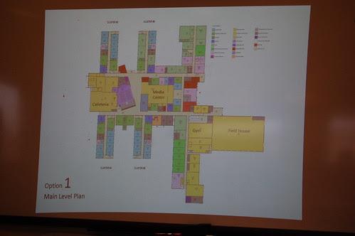 SchBldgComm: Option 1 - 1st floor