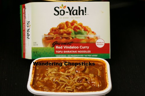 So-Yah! Red Vindaloo Curry Tofu Shirataki Noodles