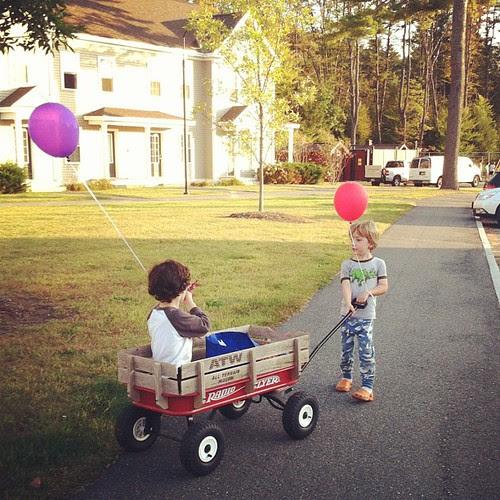 Wagon ride #latergram