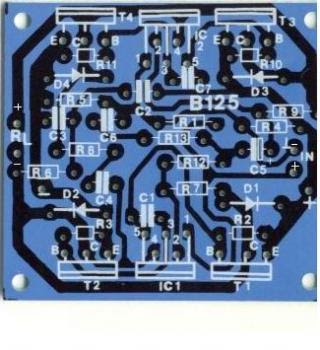 200 Watt High Quality Audio Amplifier circuit diagram