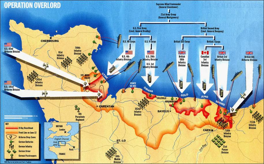 Battle of Normandy - The Canadian Encyclopedia