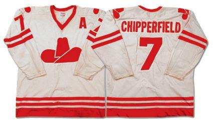 Calgary Cowboys 75-76 jersey