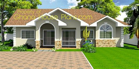 tiny house plans ghana homes  bedroom single storey
