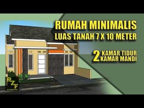 desain rumah 7x10 3 kamar tidur - inspirasi desain menarik