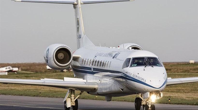 Από Σκιάθο με το «πρωθυπουργικό αεροσκάφος»