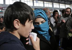 FILE - In this Friday, Nov. 28, 2014, file photo, immigrants…