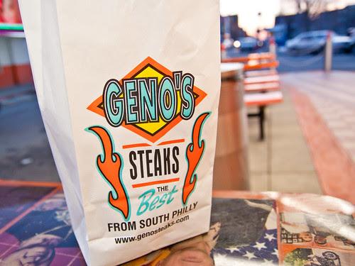 Geno's bag