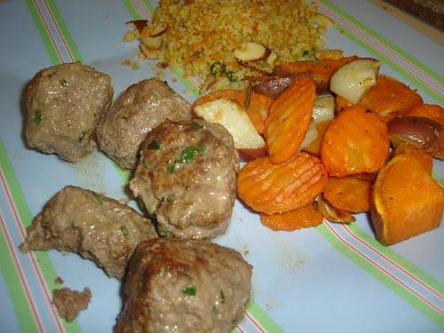Spiced Meatballs
