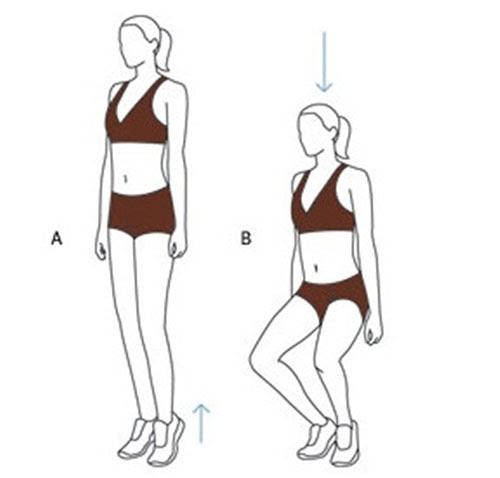 giảm mỡ trắng vùng mông và mỡ đùi