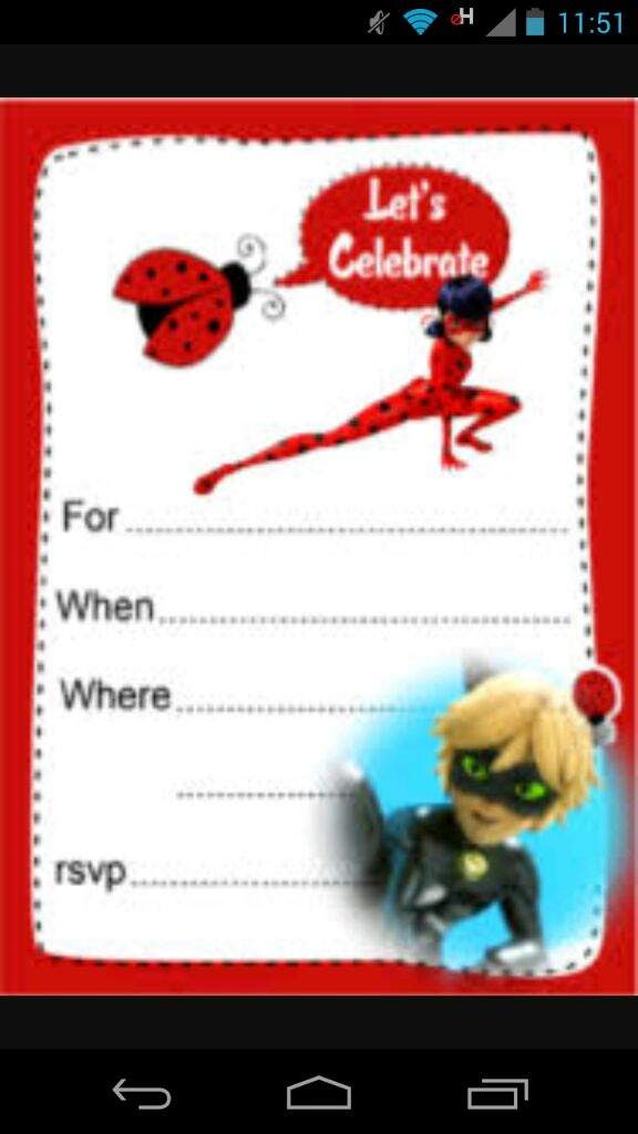 56 Invitaciones Ladybug