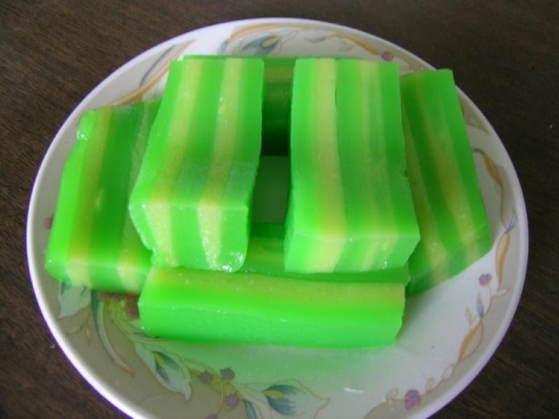 Steamed Tapioca Layered Cake