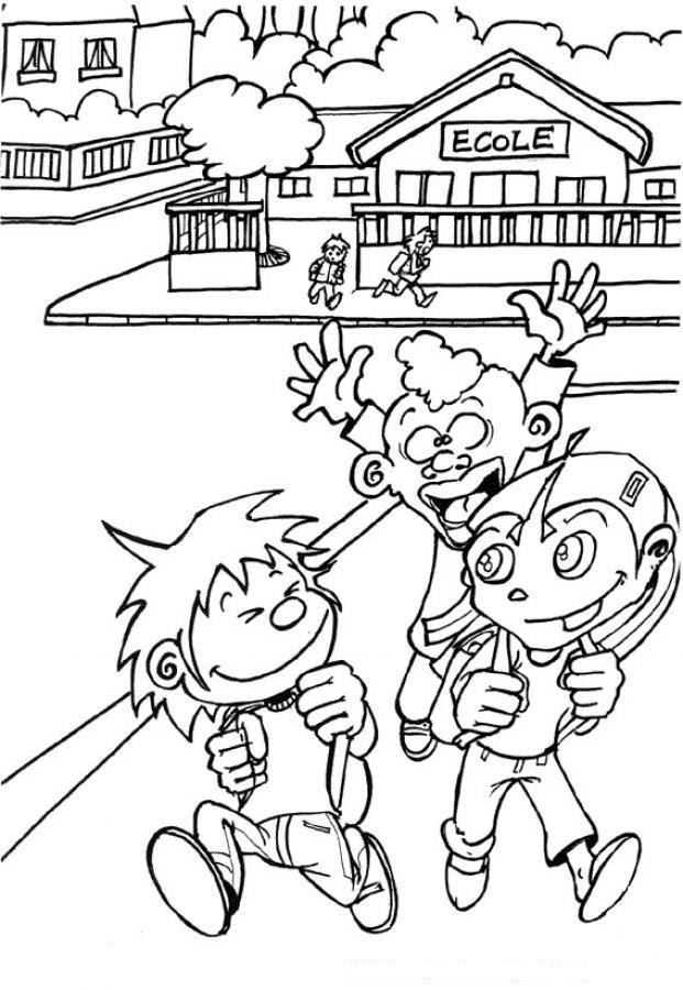 Dibujos Para Colorear De Escuelas Az Dibujos Para Colorear