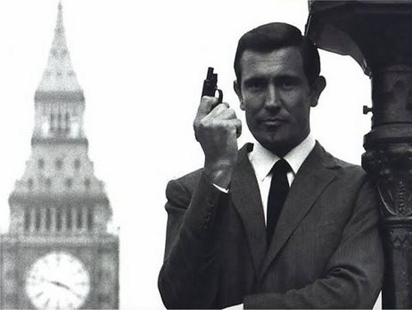 George as Bond