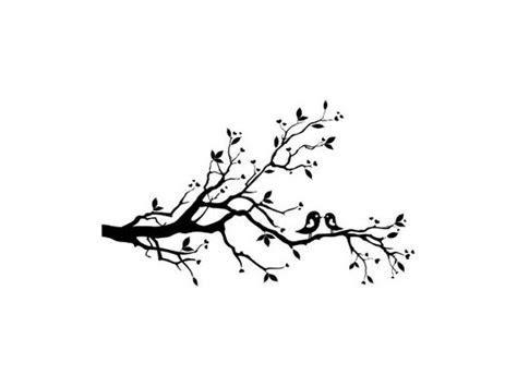 Whimsical love birds in tree Rubber Stamp lovebirds tree