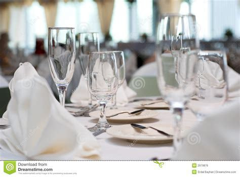 Dinner Table Royalty Free Stock Image   Image: 2979876