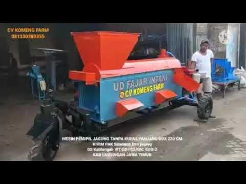 Mesin Pemipil Jagung Tanpa Kupas (Panjang Box 230cm)