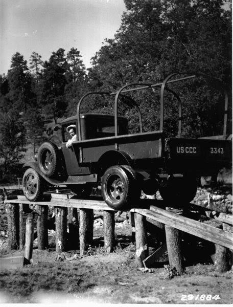 Maintenance Rack for Trucks