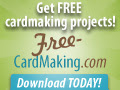 Free card making projects - download today!