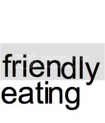 friendly eating