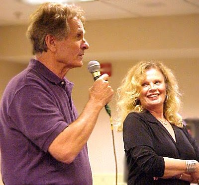 Mark Goddard and Marta Kristen